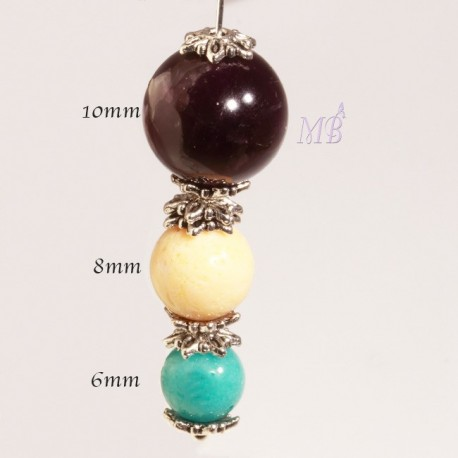 50 calottes toil e couleur argent 7x7mm pour perles 6 8 10mm for Peinture couleur argent pour bijoux