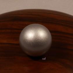 1boule musicale de bola de  grossesse argent diametre 16mm