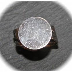 X10 supports de bagues plateau rond métal argenté